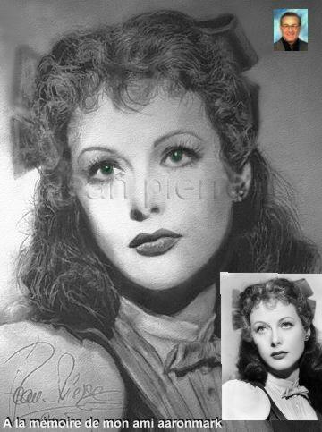 Hedy Lamarr par JPSTARS
